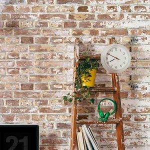 White-Painted-Brick wallpaper