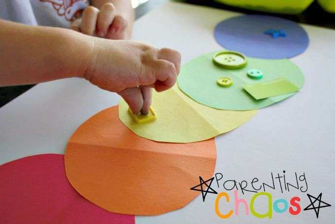 very hungry caterpillar activities sorting colours