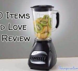 items to review
