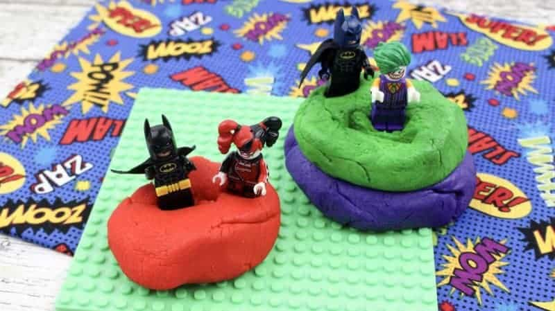 lego batman playdough
