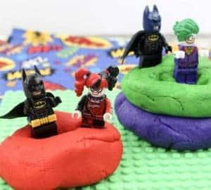 make superhero playdough