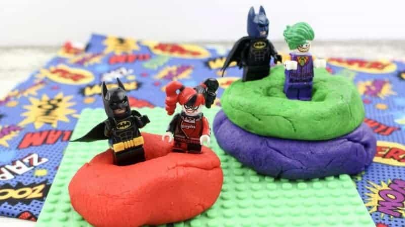 lego batman playdough