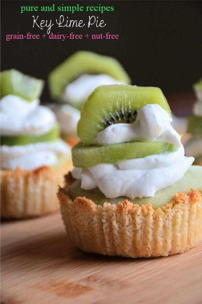 Paleo Dessert key lime pie