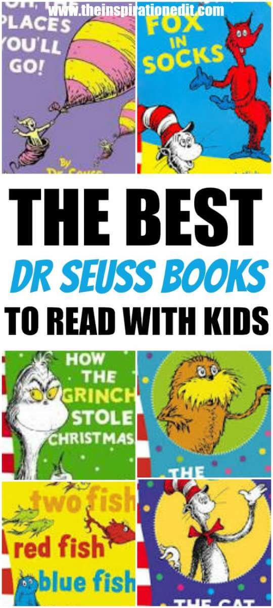 Best Dr Seuss Books To Read With Kids