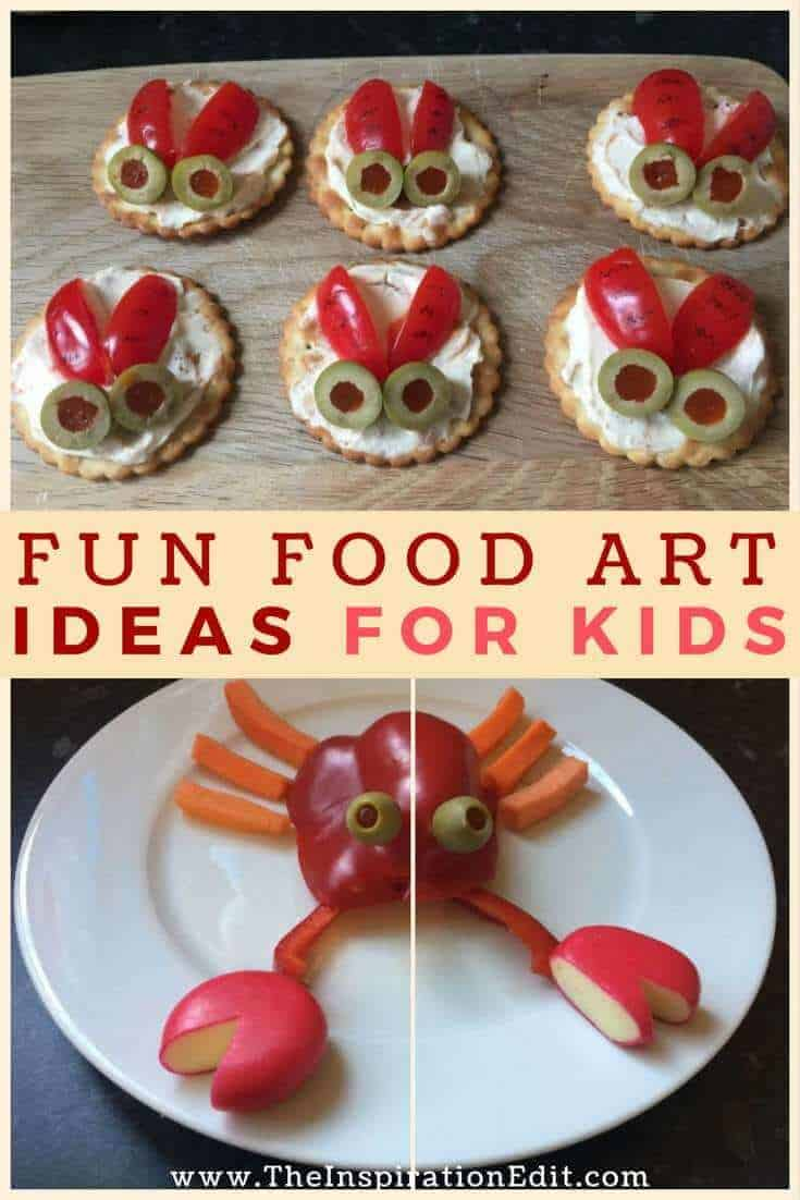 Funny food art for kids the image kid for Cool food ideas for kids