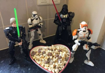 star wars popcorn recipe