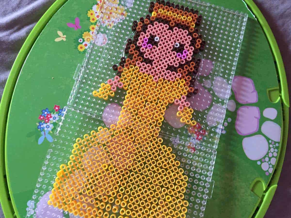 Beauty And The Beast Hama Bead Craft For Kids