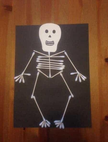 funnybones skeleton art