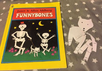Funny bones skeleton activity
