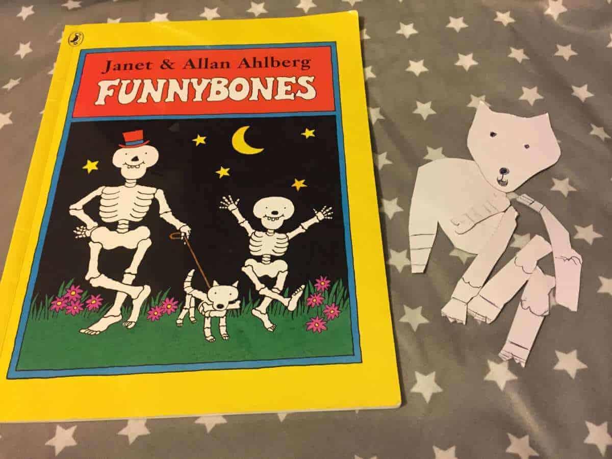 Funny bones skeleton activity