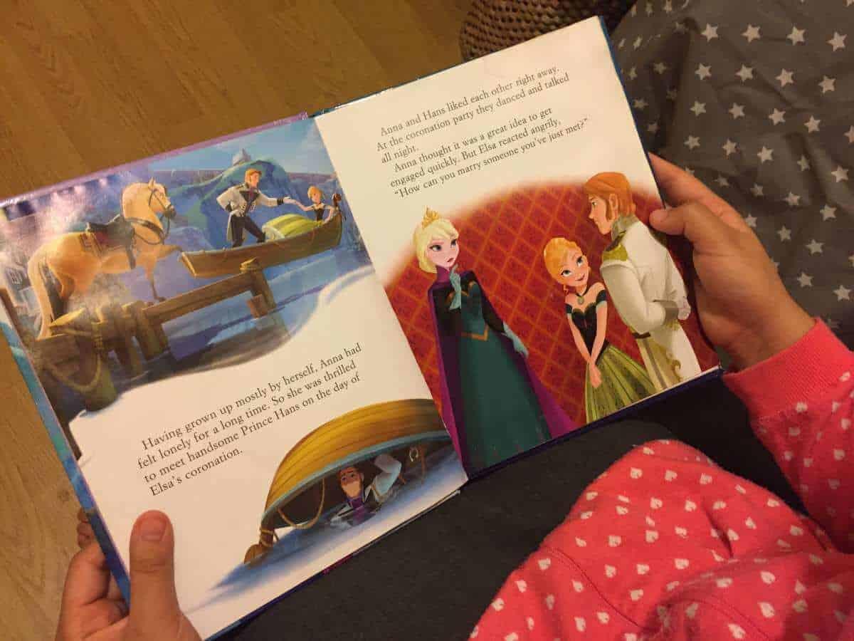 Disney Frozen story book
