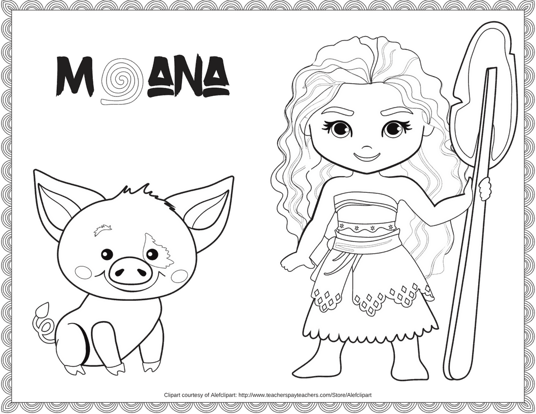 photo about Printable Moana referred to as Unique Absolutely free Disney Moana Coloring Printable · The