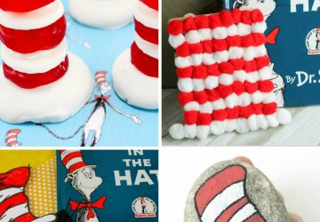 cat in the hat crafts for kids