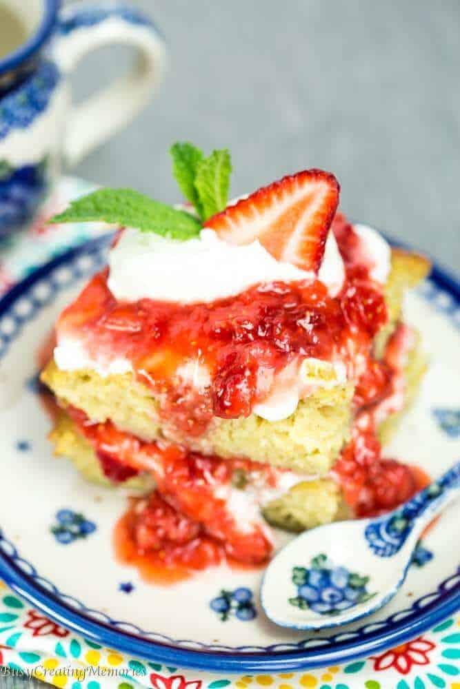 paleo desserts shortcake