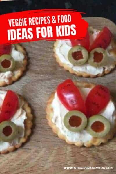 veggie recipes and creative food ideas