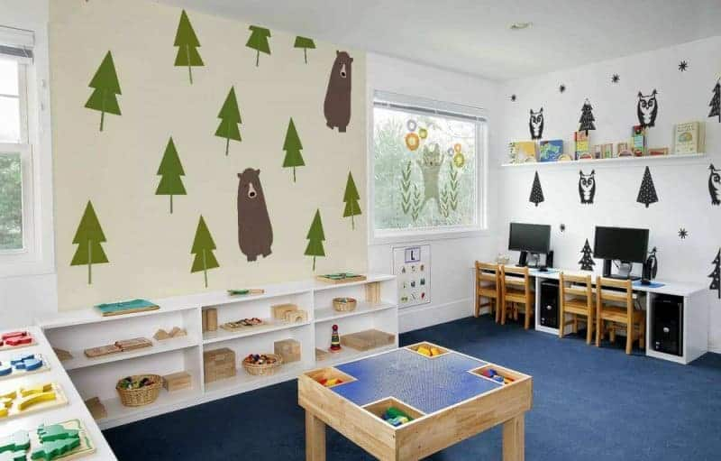 Kids Playroom for Heuristic play