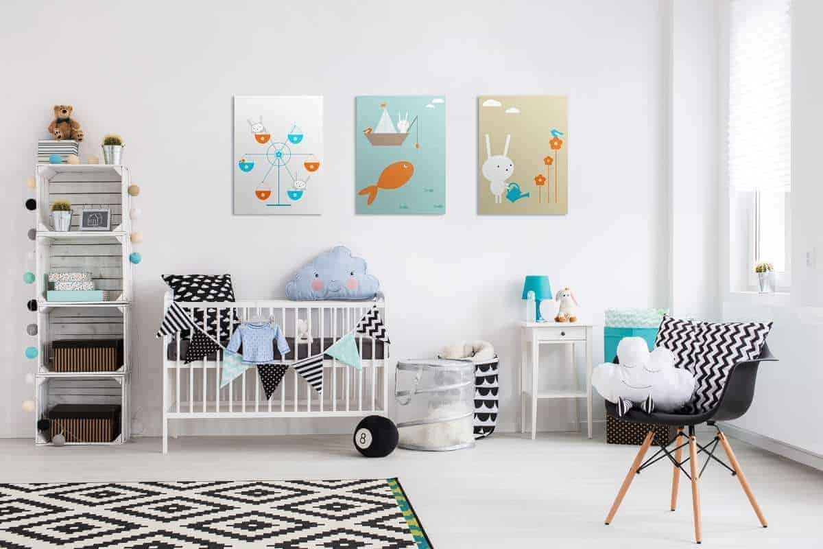 kids nursery room