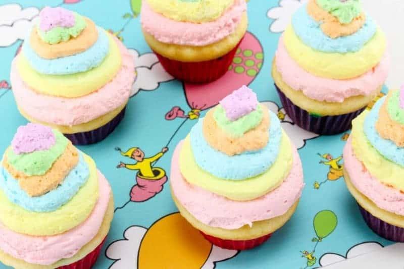 Dr Seuss Cupcake ideas
