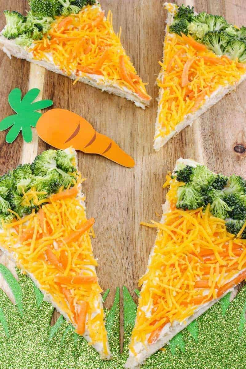 Healthy Easter Treats Veg And Carrot Bars