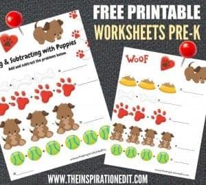 PRE K Worksheets