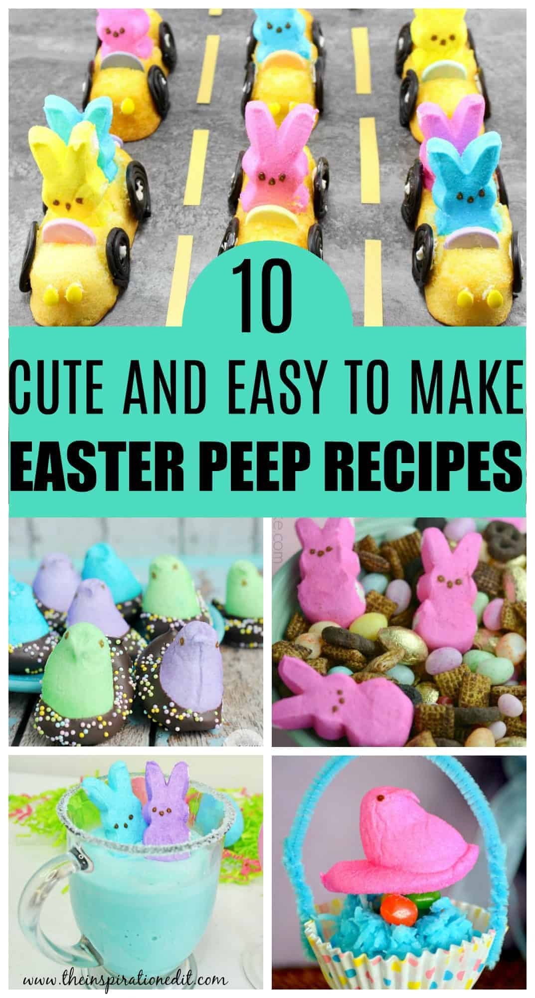 easter peeps recipes