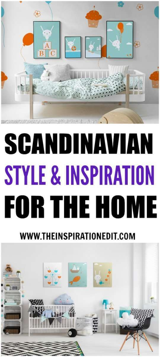 Here are some fabulous Scandinavian style interior ideas for the home