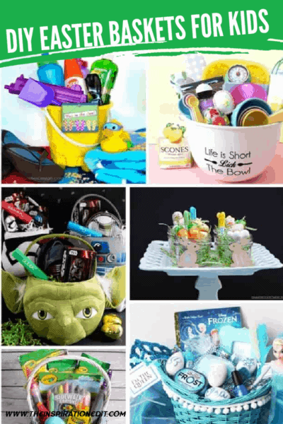 easter baskets for kids