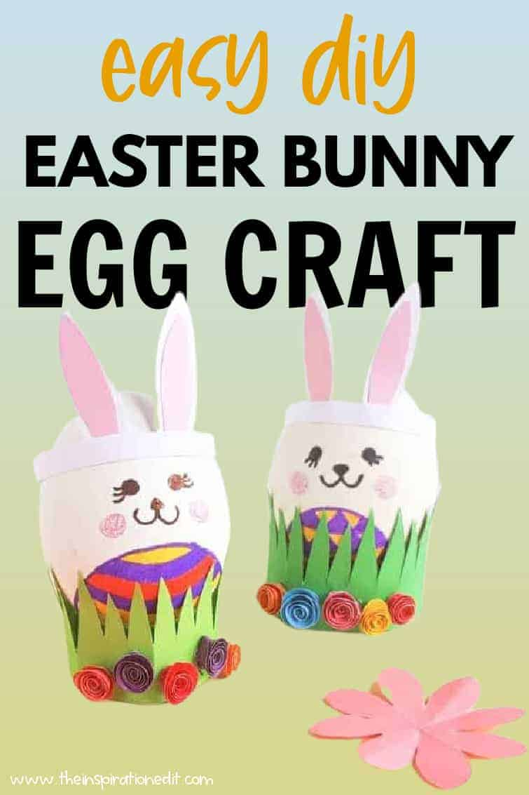 easter bunny egg craft