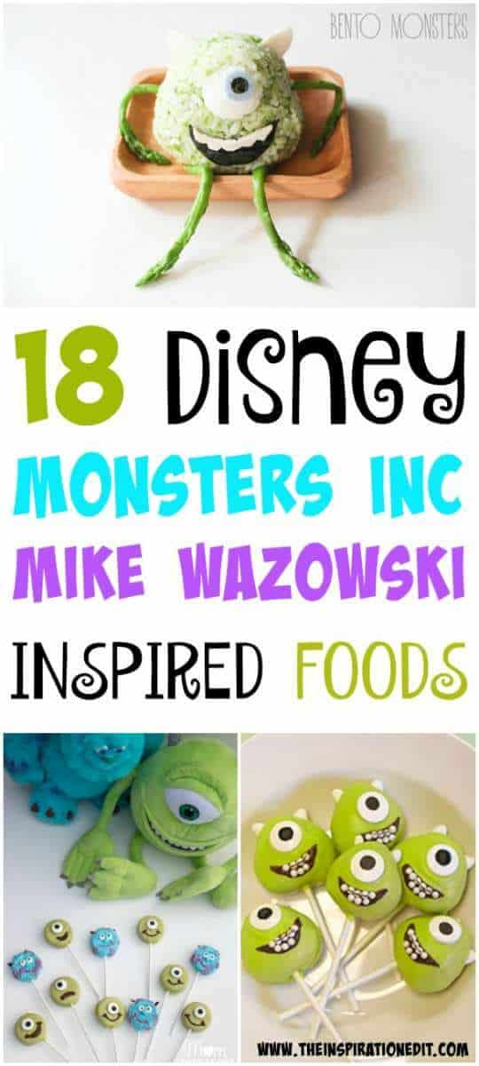 Monsters Inc Food Ideas