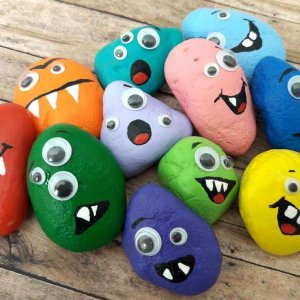 Rock Stones Monster Craft
