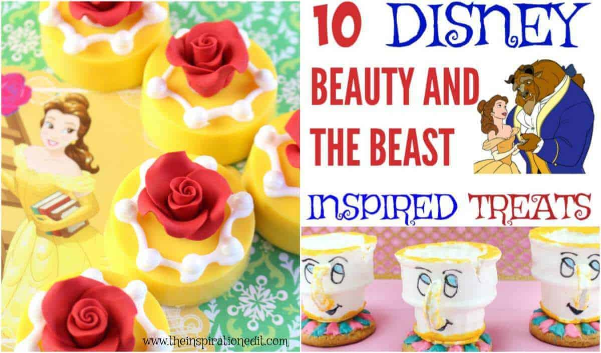 Amazing Beauty And The Beast Inspired Treats