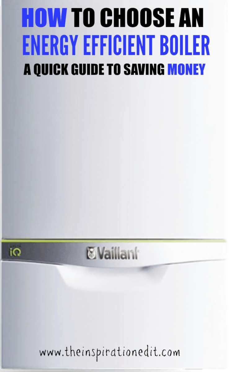 How to choose an energy efficient boiler