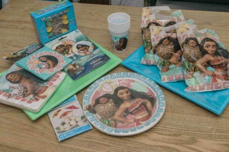 Disney Moana Party For Kids