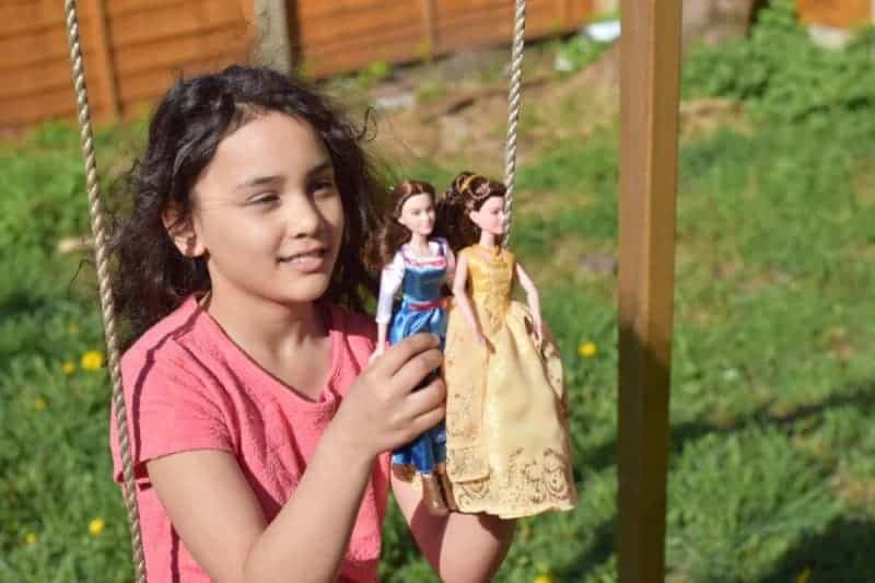 Disney Belle Doll Enchanted ball Gown