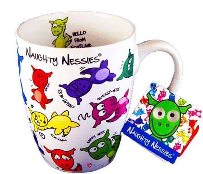 Naughty nessies mug