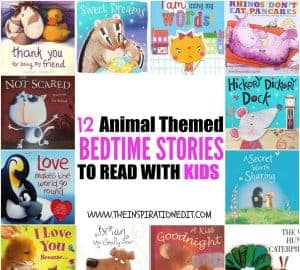 12 Animal themed bedtime stories