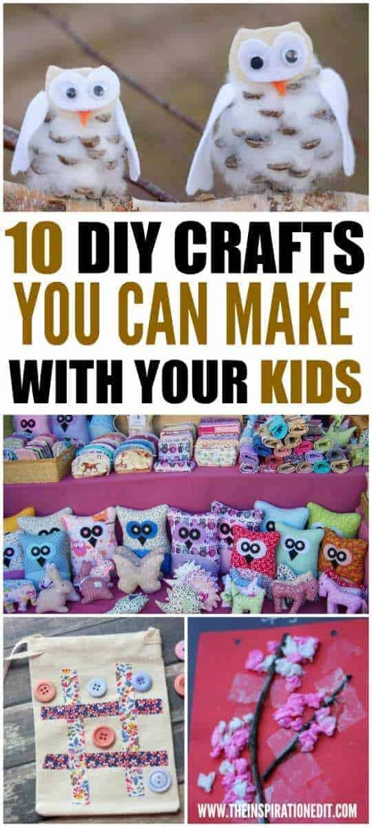 10 diy kids craft ideas