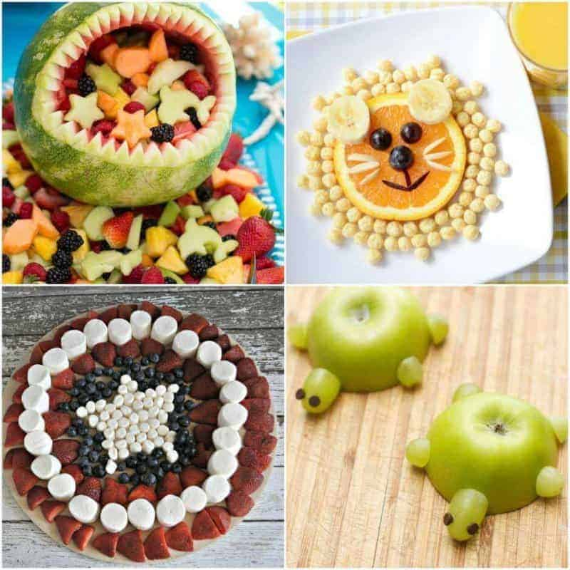 13 Cute Fruit Snack Ideas For Kids · The Inspiration Edit