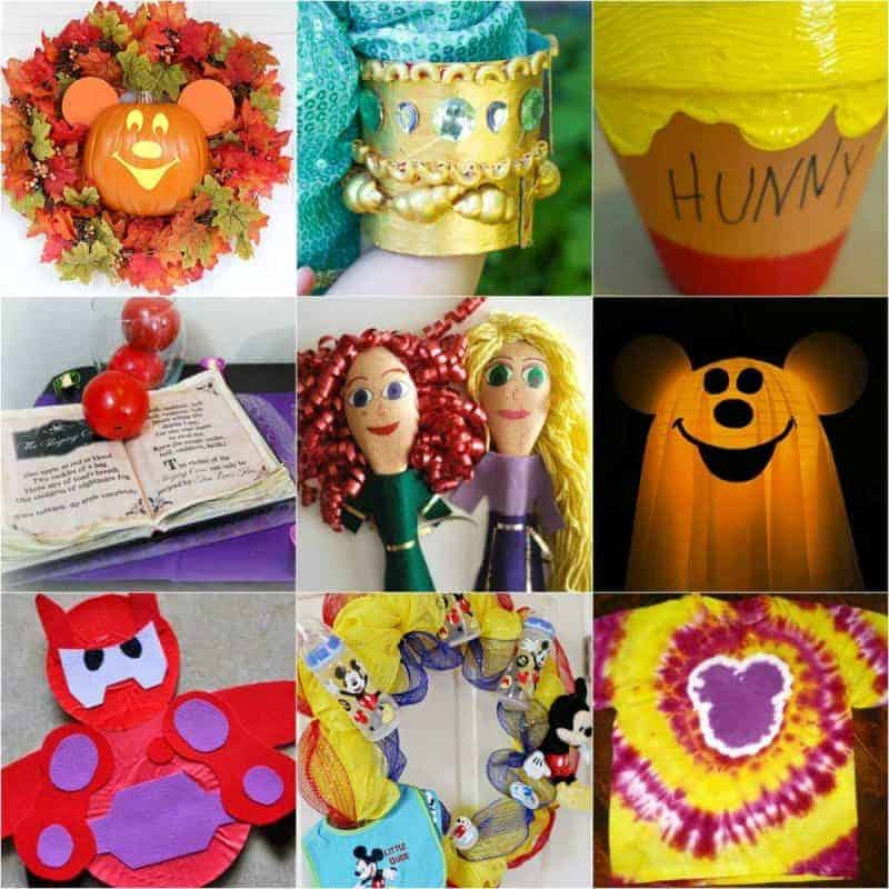 Disney craft Ideas For Kids