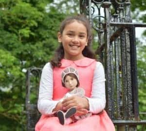 a girl for all time matilda doll