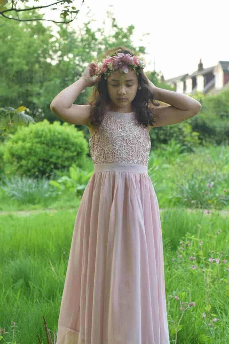 roco clothing phillipa dress pink Brisdesmaid