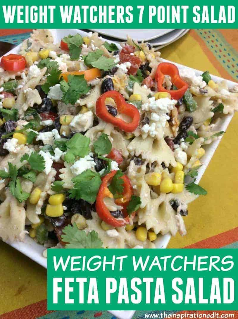 Weight Watchers Pasta Salad With Feta