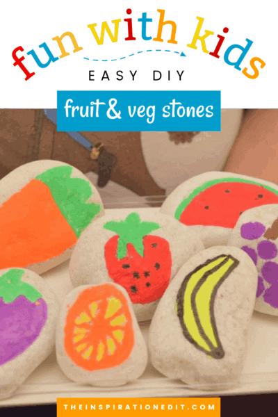 fruit and veg stones