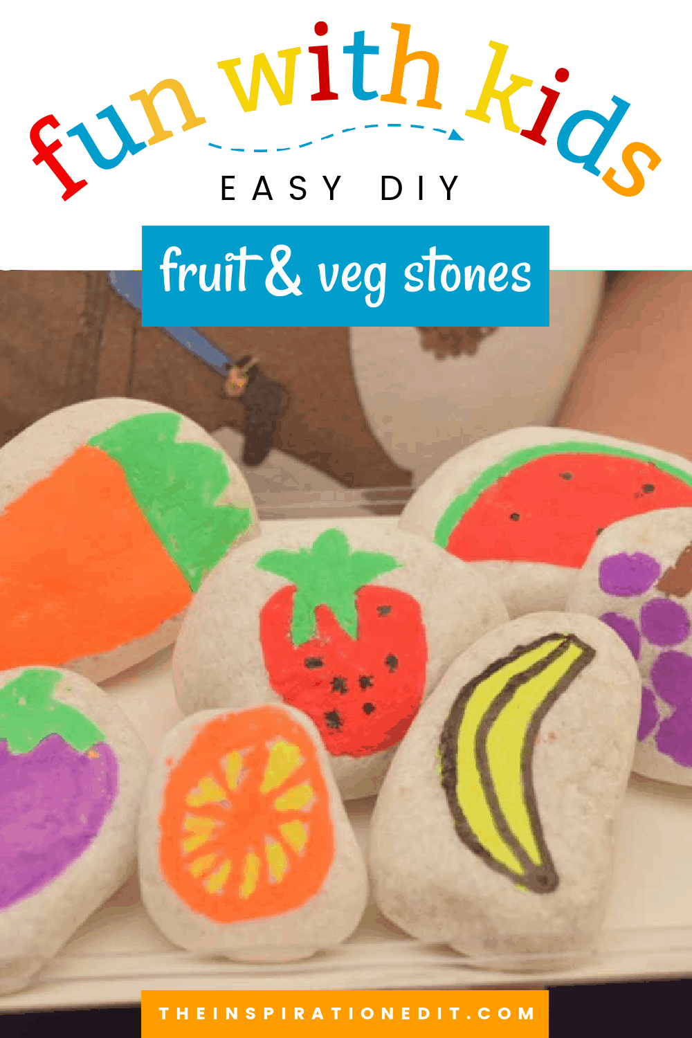 fruit and veg stones