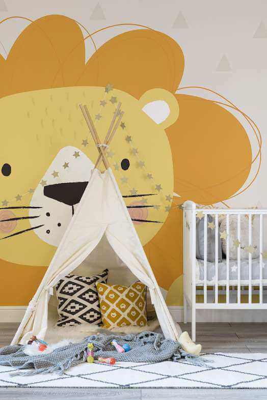 nursery room wallpaper ideasv