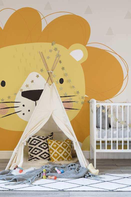 nursery room wallpaper ideasv
