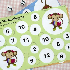 counting printable for preschool kids