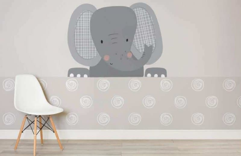 nursery room wallpaper ideas