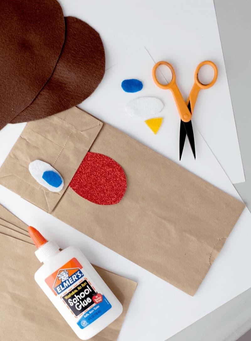 paper dog craft