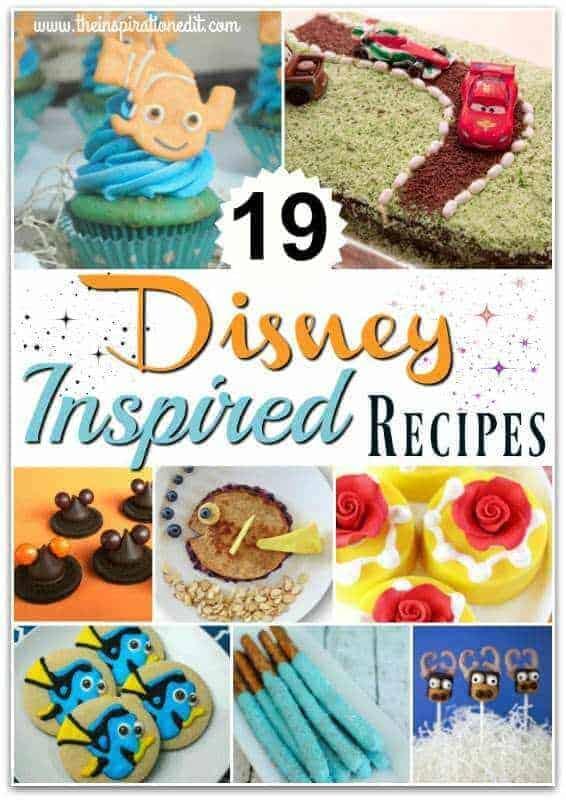 Disney themed party food ideas